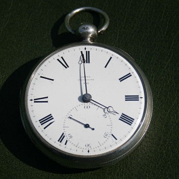 Goffe Falmouth 1825 Silver Pocket watch - Pocket Watches