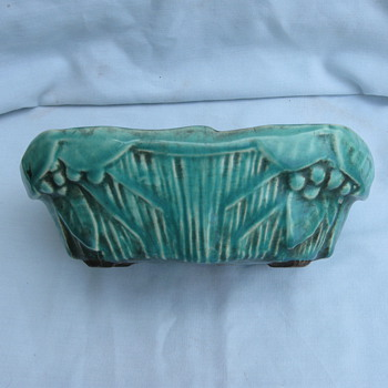 OLD McCoy Flower Holder?  - Art Pottery