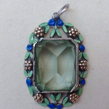 Art Deco pendant - Fine Jewelry