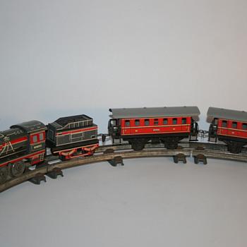 Distler electric train set