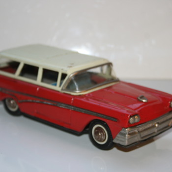 Joustra tin toy car break - Toys