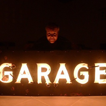 GARAGE Porcelain Sign 1930's