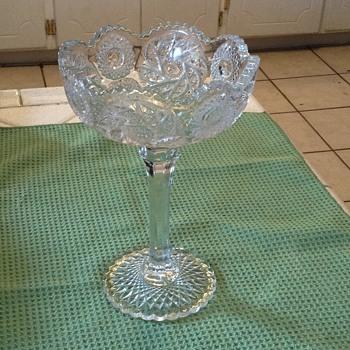 Crystal dish - Glassware