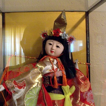 Need Identification and translation for Japanese Doll  - Dolls