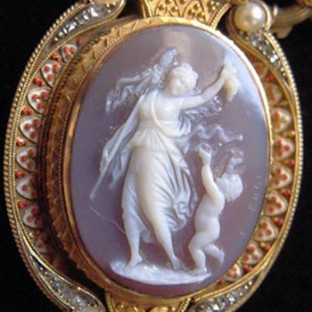 Luigi Rosi Maenad & Putto - Fine Jewelry