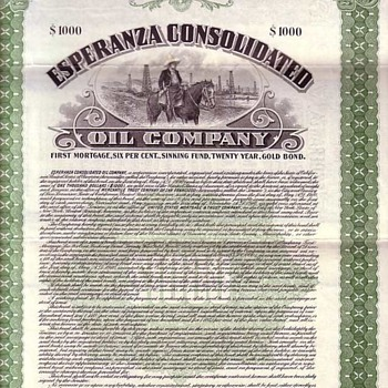 Oil, Hawaii, Telephone and Early American Industry - Business & Art History - US Paper Money