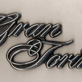 Ford Gran Torino Trunk Emblem