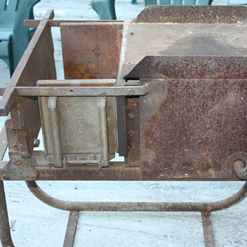 Cement Block Maker - Tools and Hardware