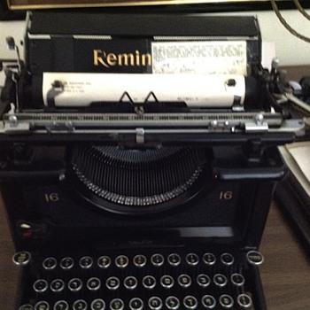 Antique Hebrew typewriter  - Office