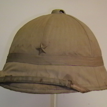 Original WW II Japanese Sun  Helmet
