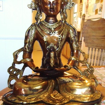 Buddhist Statue, Beautiful!!!  Just Arrived! - Asian
