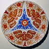 Antique? Chinese Imari-like Plate~Raised Design, unmarked,...any ideas?