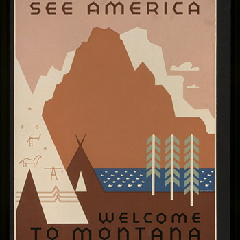 Works Progress Administration Posters - Posters and Prints