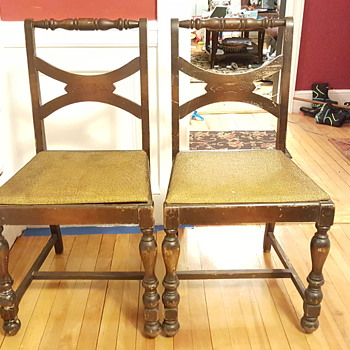 Beautiful old chairs - Furniture