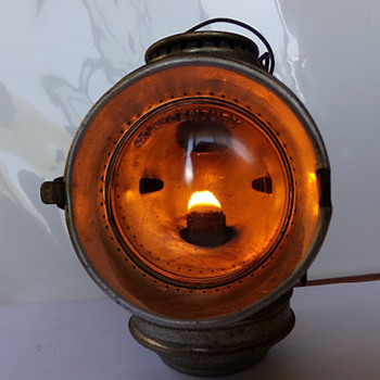 Circa 1898 Bicycle Lantern - Lamps
