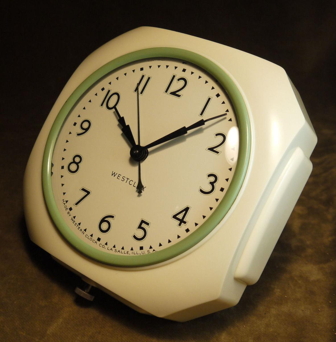 Westclox Model 800 Wall Clocks Collectors Weekly