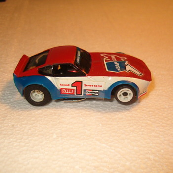 H.O. SCALE AMRAC DATSUN 240Z SLOT CAR WICKED FAST!