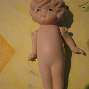 "Kewpie Bisque 5 ""  Doll - Dolls"