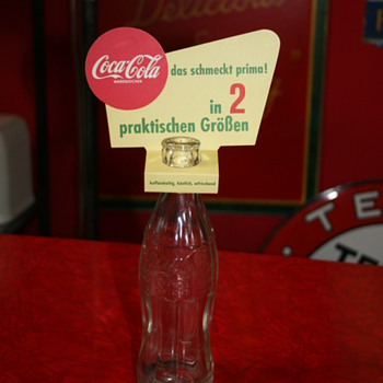 coca cola bottle topper - Coca-Cola