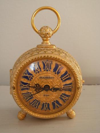 Amazing bucherer 8 day alarm clock collectors weekly for Amazing alarm clocks