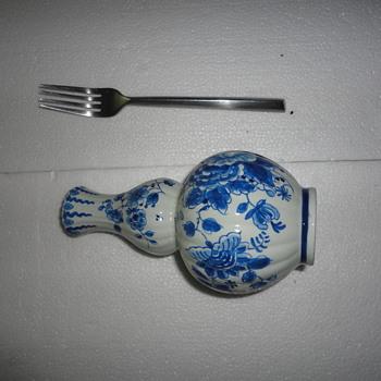 Blue and White Minature Porcelain vase - Asian