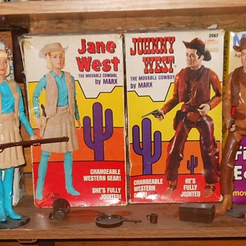 Johnny and Jane West Cactus Mod Boxes - Toys
