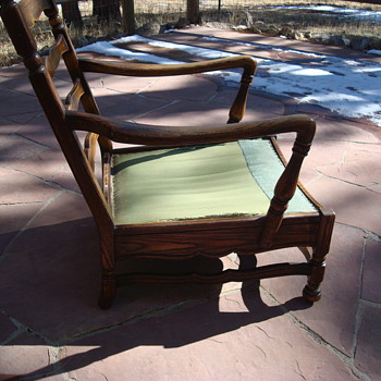 An Old Chair we know nothing about - Furniture