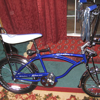 ~~My Blue Schwinn StingRay~~ - Outdoor Sports