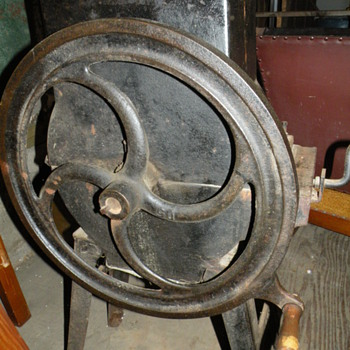 Antique Hand Crank Ice Crusher