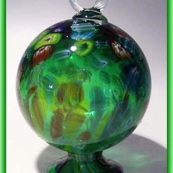 My Hummingbird Art Glass Feeder