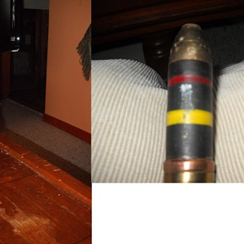 WWII Japanese Artillery Shell