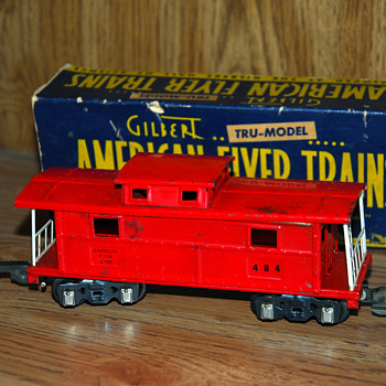 American Flyer caboose No. 484 - Model Trains