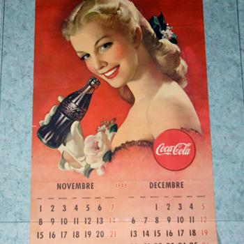 coca cola 1948 calendar - Coca-Cola