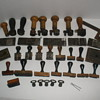 Early 1900&#039;s Post Office Hammers and Handstamps Collection