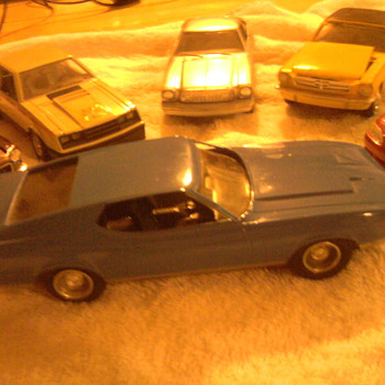 Mustang promo cars...  