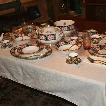 Royal Albert Provincial Flowers collection November 2011 update