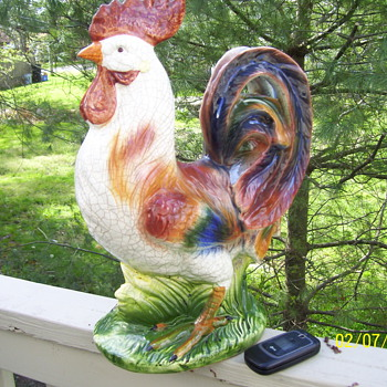 ROOSTER  - Pottery