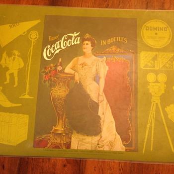 coca cola place mats