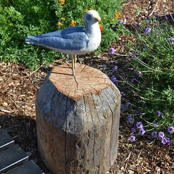 Seagull Garden Ornament - Animals