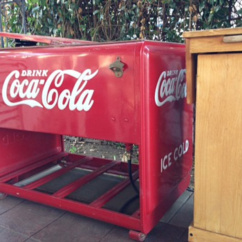 Coca Cola Ice Box