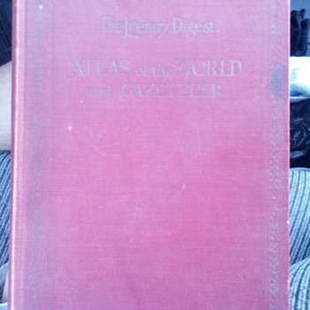 1929 World Atlas and Gazetteer
