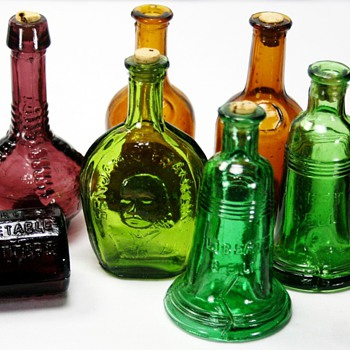 1970&#039;s Bottle Replicas - Bottles
