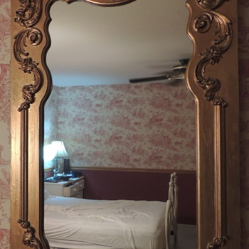Romantic/Victorian Style Mirror - Furniture