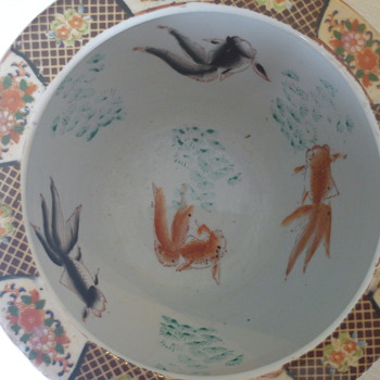 fish bowls - Art Pottery