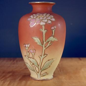 Coralene Vase - Pottery