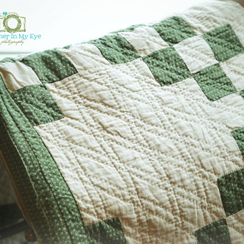 Great-Great-Great Grandmother's Quilt - Sewing