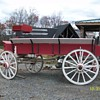 1800&#039;s Grain Wagon.