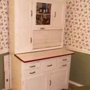 Hoosier style Marsh cabinet