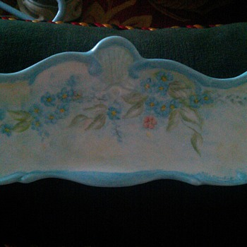 porcelain tray - Art Pottery