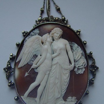 Fabulous cameo of Eros and Psyche